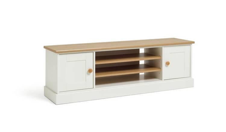 e4ce3857e0 Buy Argos Home Winchester TV Unit - White   Entertainment units and ...