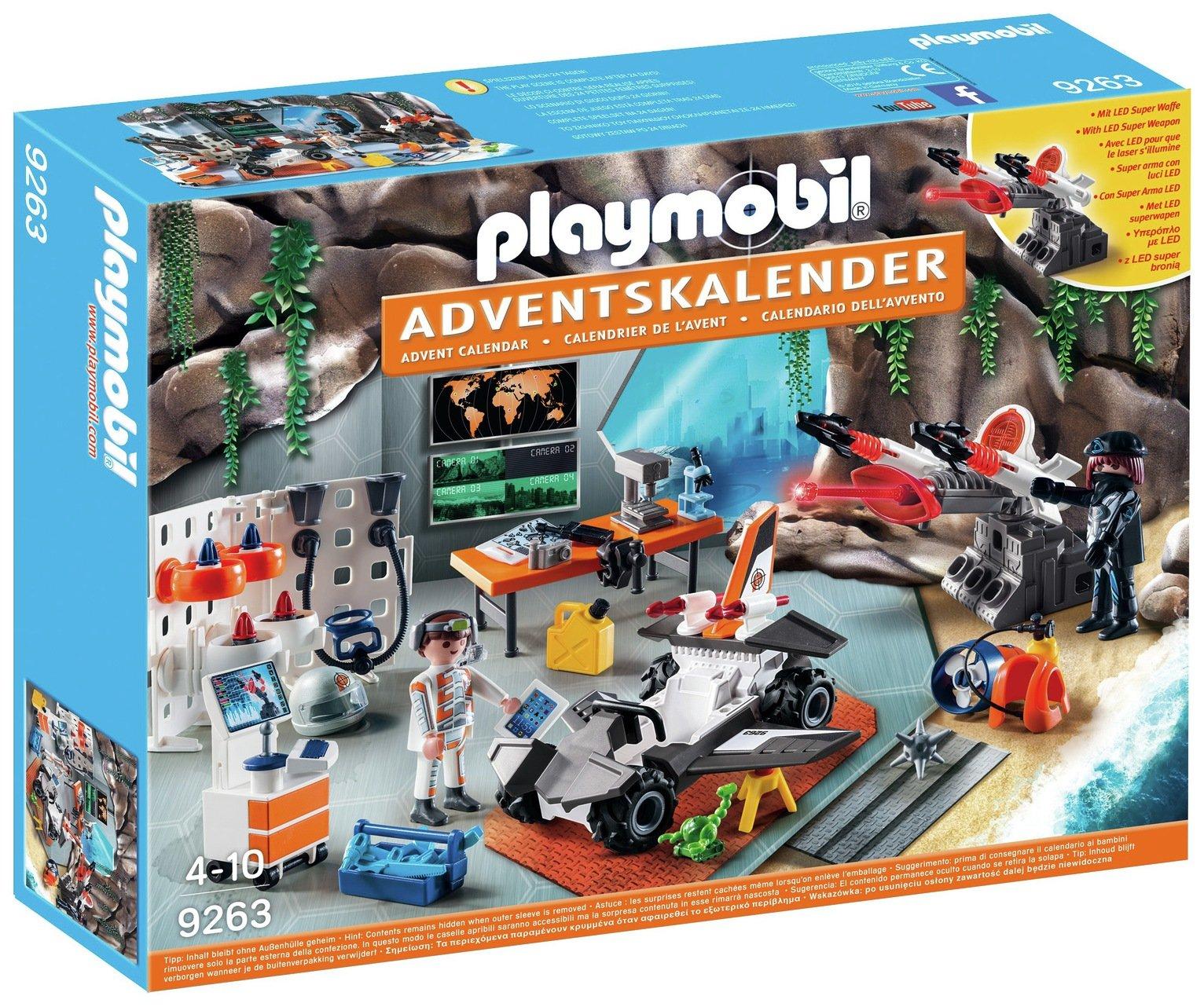 Playmobil 9263 Top Agents Advent Calendar