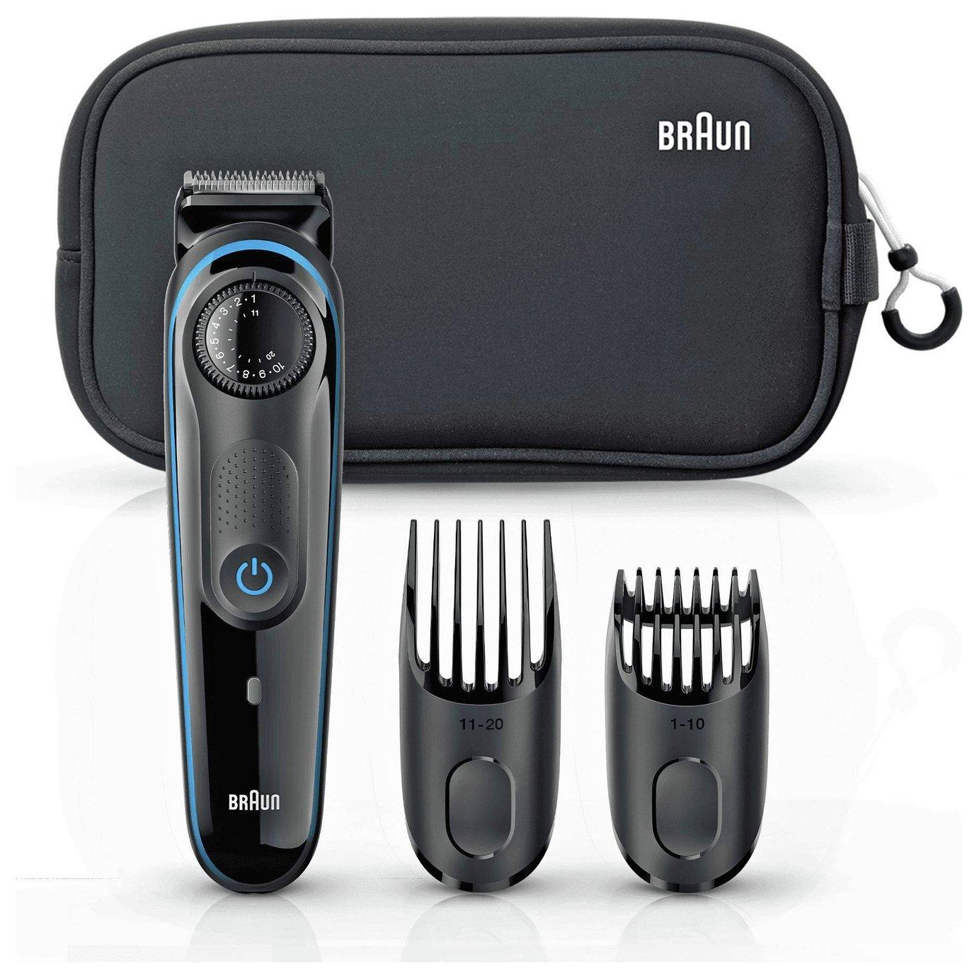 Braun Beard Trimmer and Hair Clipper BT3940TS Gift Set