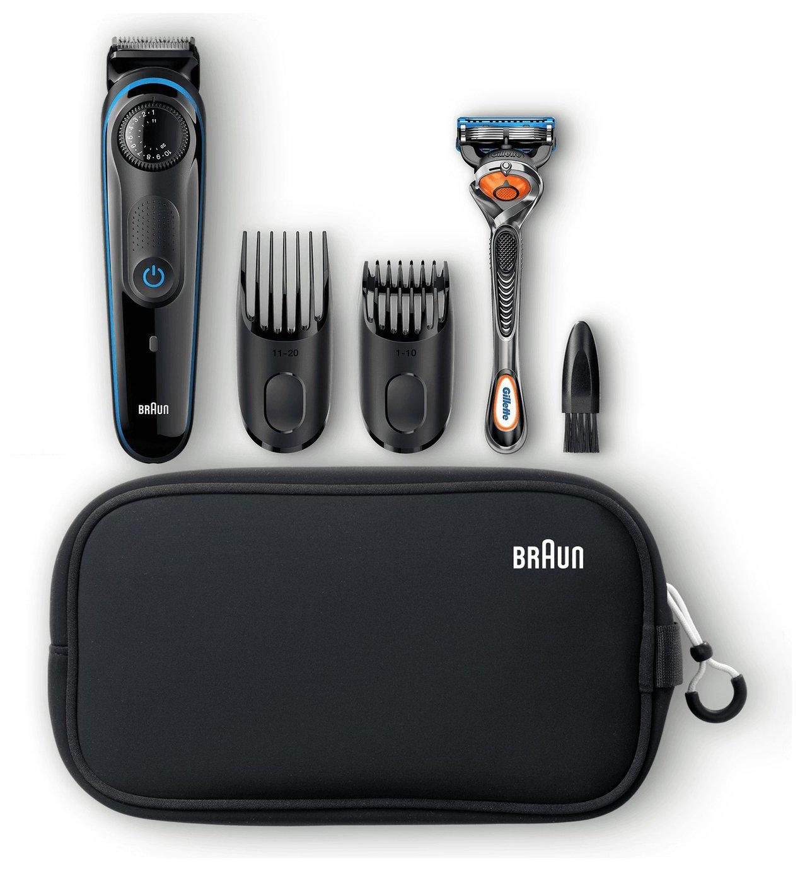 Braun Beard Trimmer and Hair Clipper Kit BT3940TS