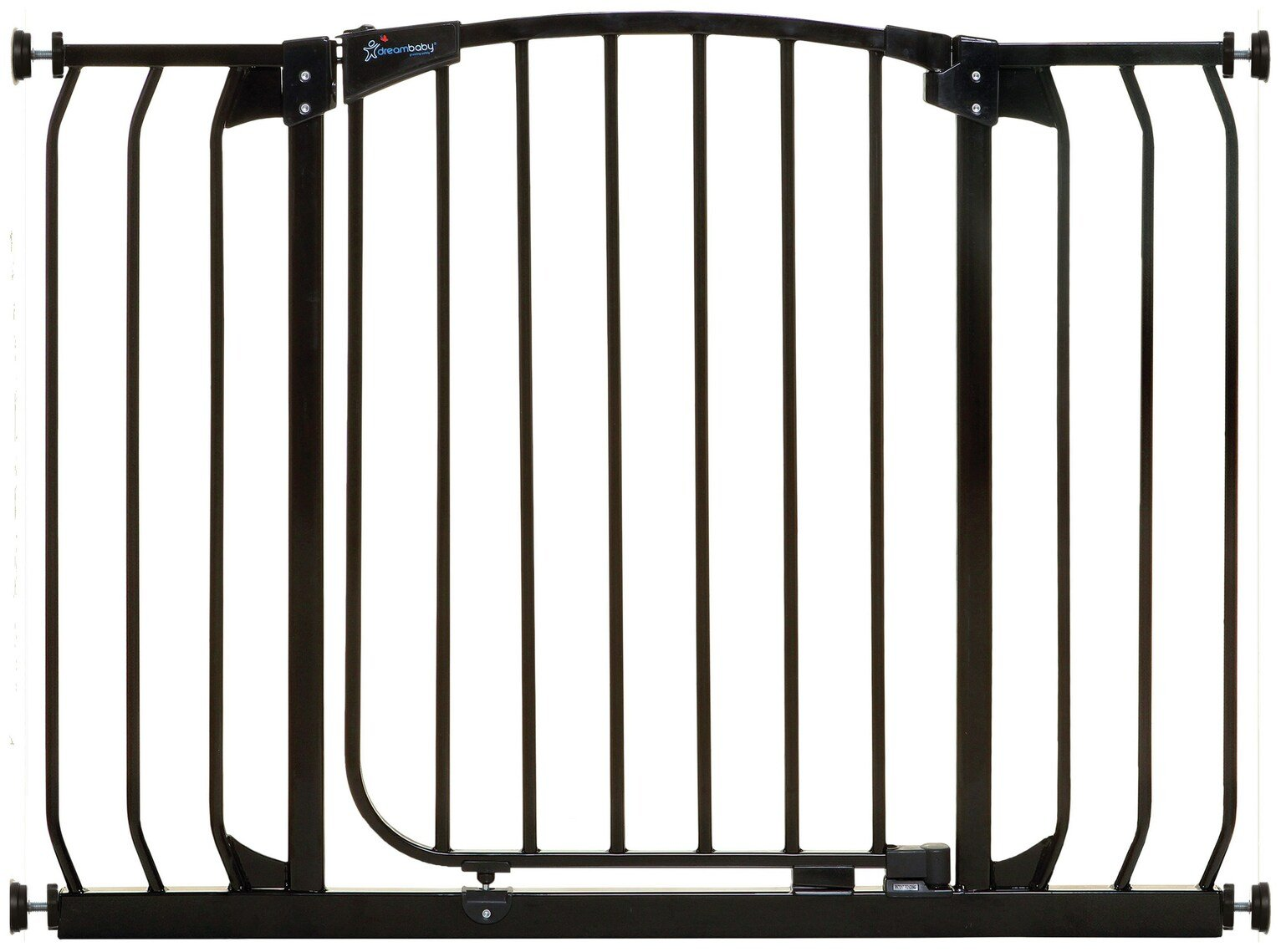 Dreambaby Chelsea Auto Close Security Gate- Black (97-106cm)