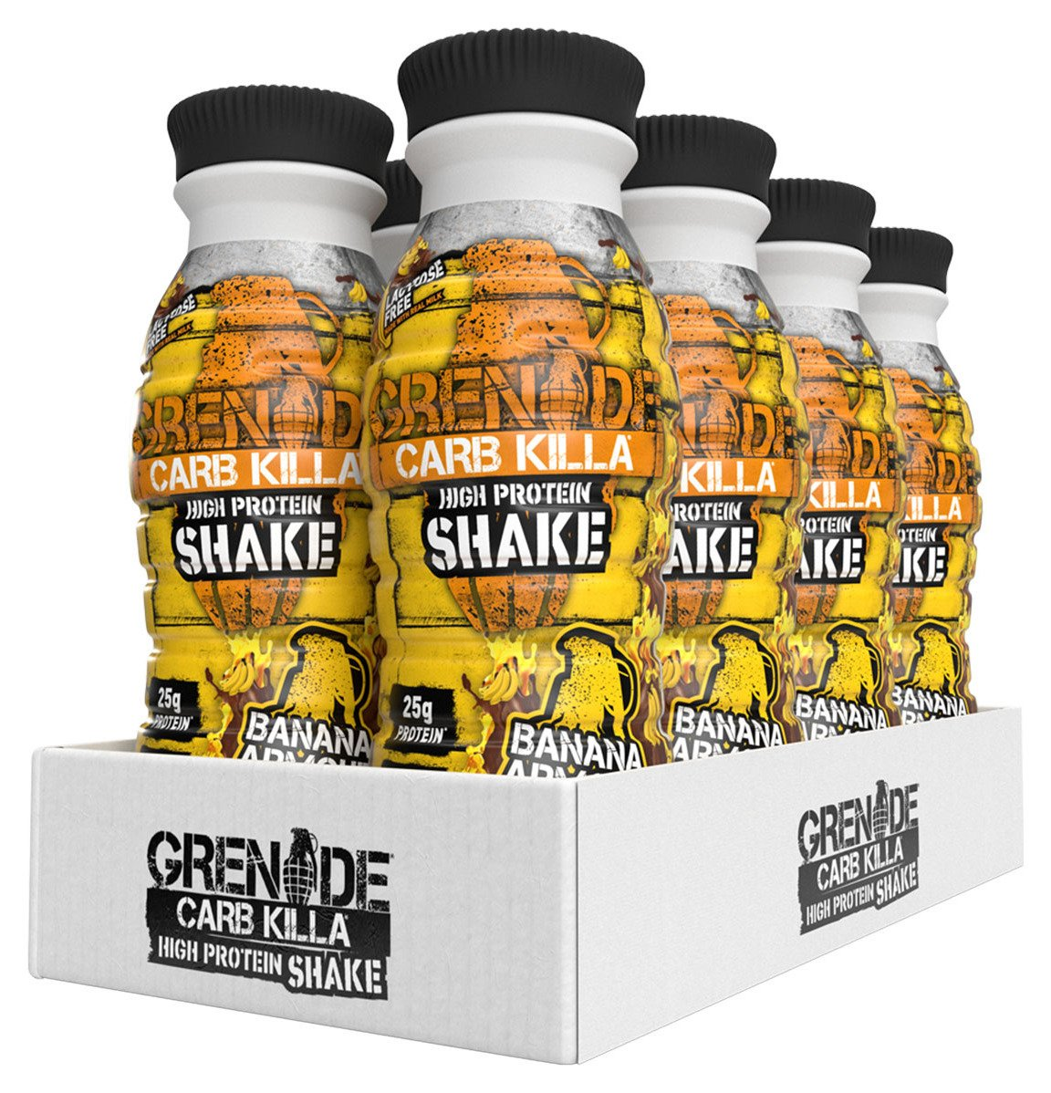 Grenade Carb Killa Banana Armour Protein Shake - 8 x 330ml