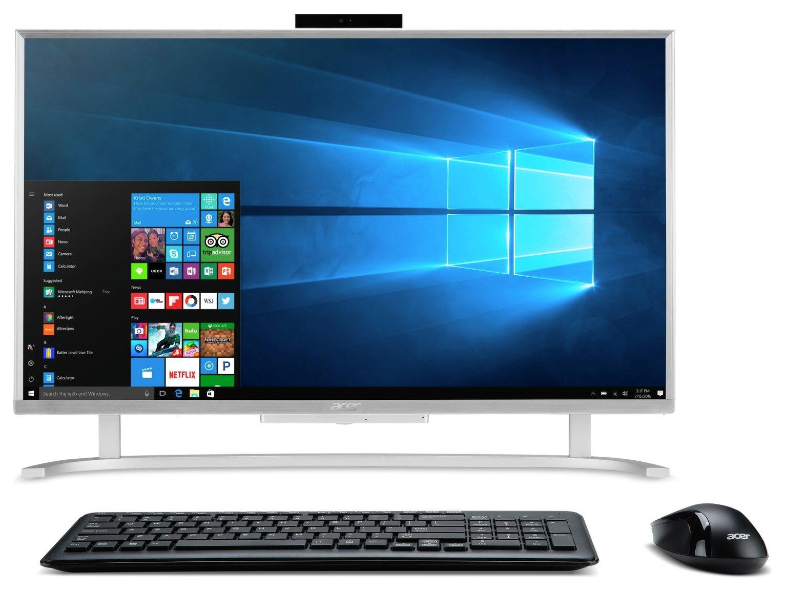 Acer Aspire C22-720 21.5 Inch Pentium 4GB 1TB All-in-One PC
