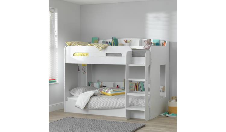 Argos Home Ultimate Bunk Bed Frame - White