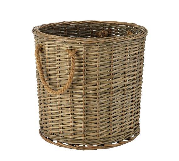 Sainsbury's Home Willow Basket