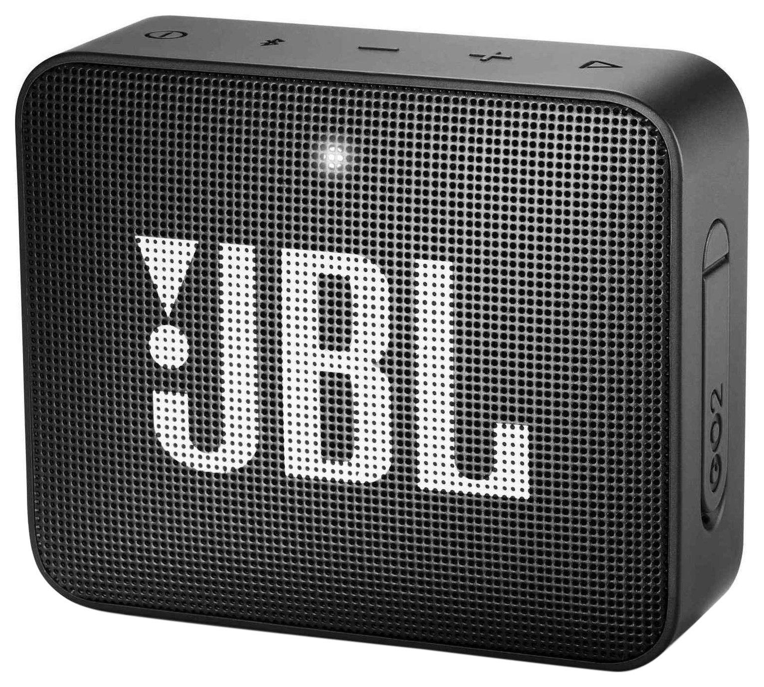 JBL GO 2 Portable Wireless Speaker - Black