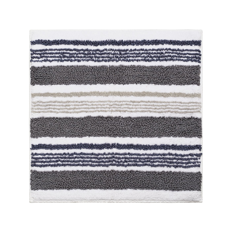 Sainsbury's Home Grey Stripe Shower Mat
