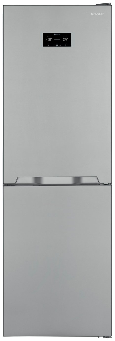 Sharp SJ-BA33IHXI2 Fridge Freezer - Stainless Steel