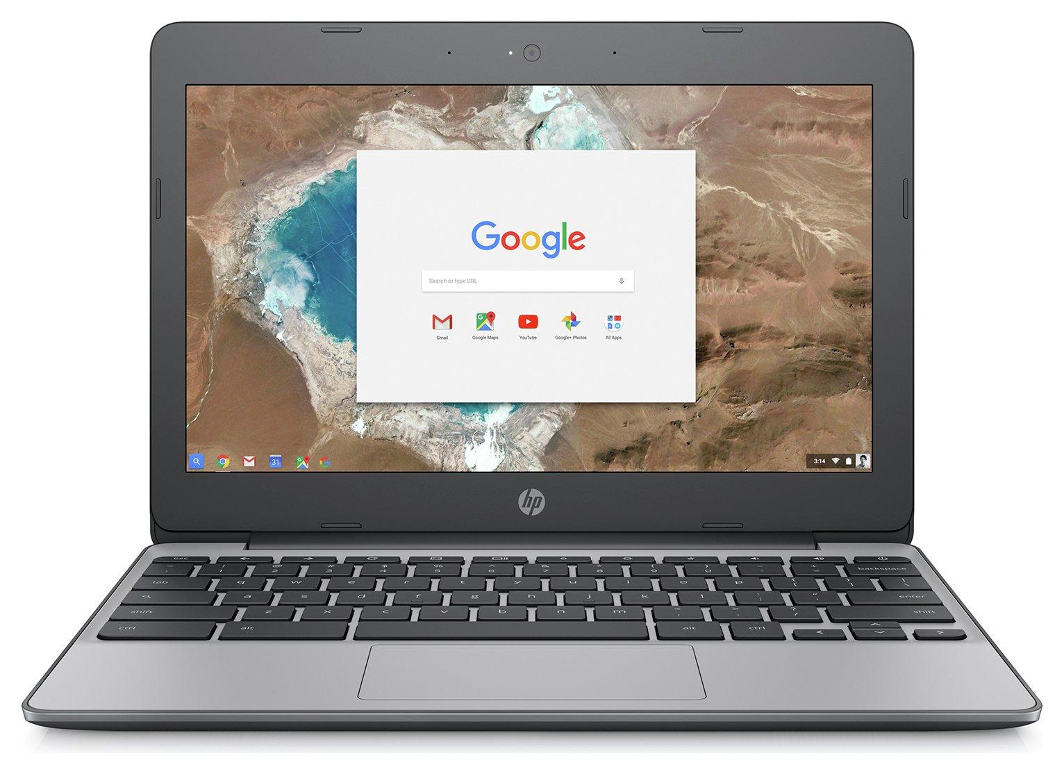 HP 11.6 Inch Celeron 4GB 16GB Chromebook - Grey