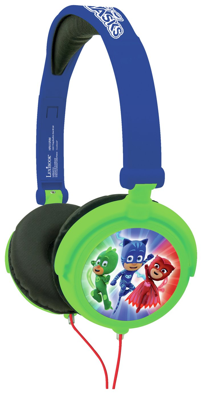 PJ Masks Over-Ear Kids Headphones - Green