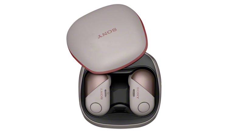 Buy Sony WF-SP700N In-Ear True Wireless Sports Headphones - Pink | iPod and  personal audio | Argos