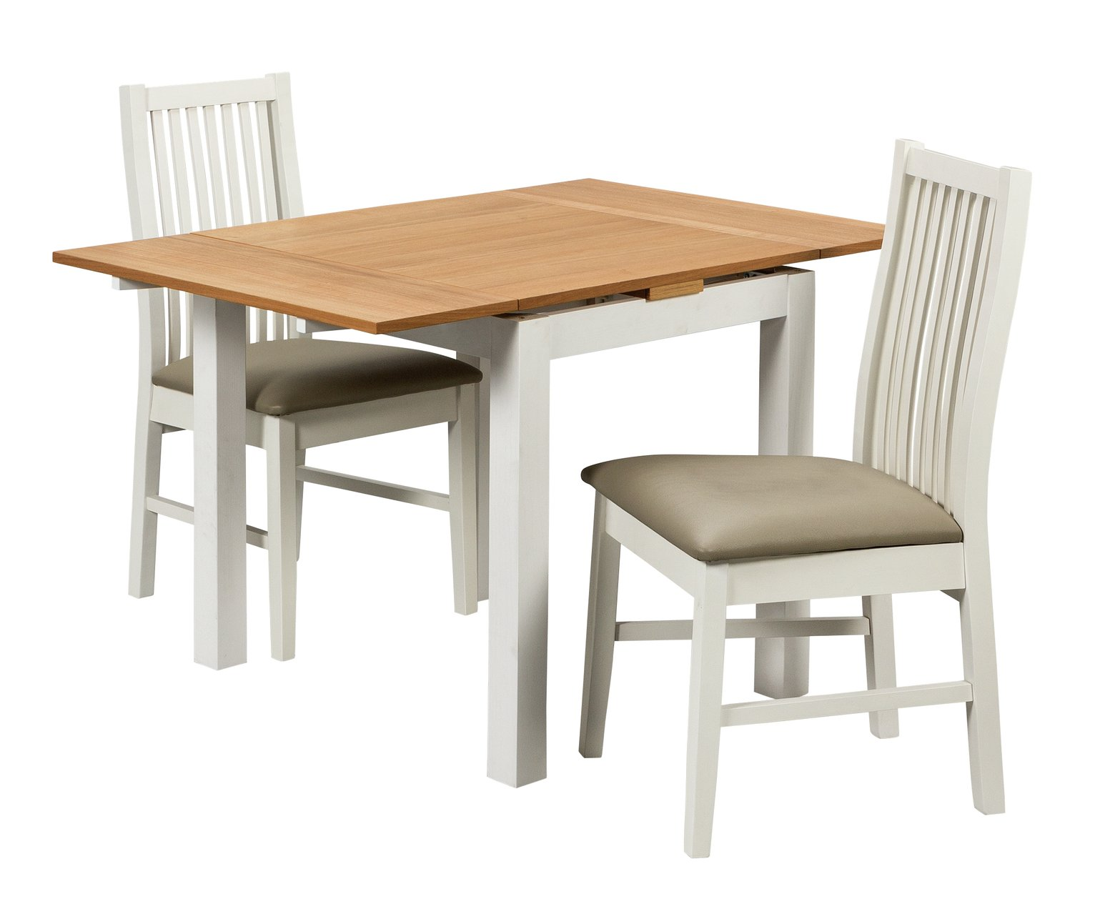 Argos Table And Chairs For 2: Argos Home Clifton Extendable Table And 2 Chairs Reviews