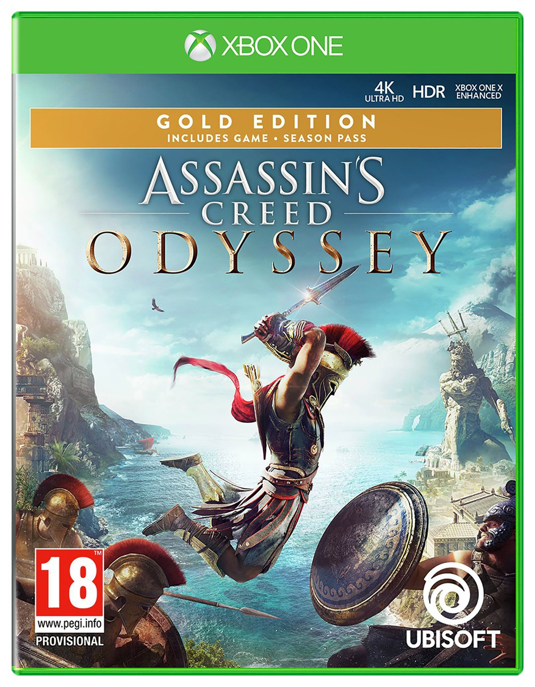 Assassin's Creed Odyssey Gold Edn Xbox One Game