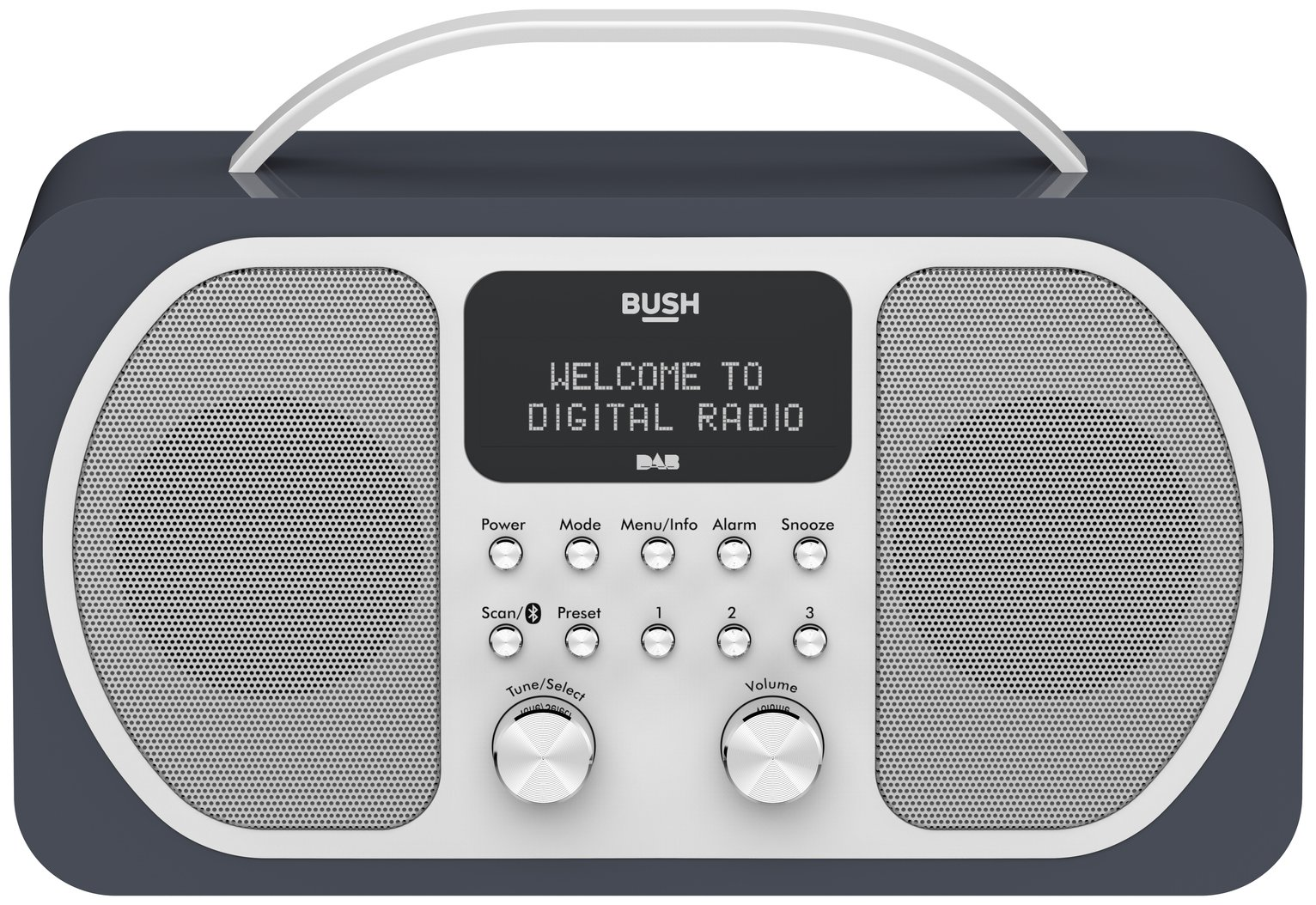 Bush DAB Bluetooth Radio - Midnight Blue