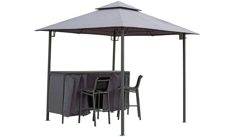 new styles a7f08 c9c45 Buy Argos Home Bar Gazebo, Table & Chairs Set   Gazebos, marquees and  awnings   Argos
