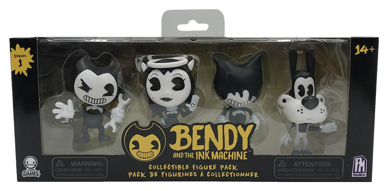 Bendy And The Ink Machine Figure Pack