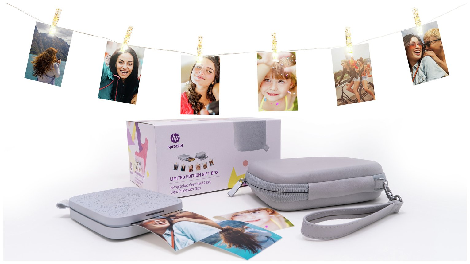 Hp Sprocket Photo Printer In Limited Edition Gift Box by Argos