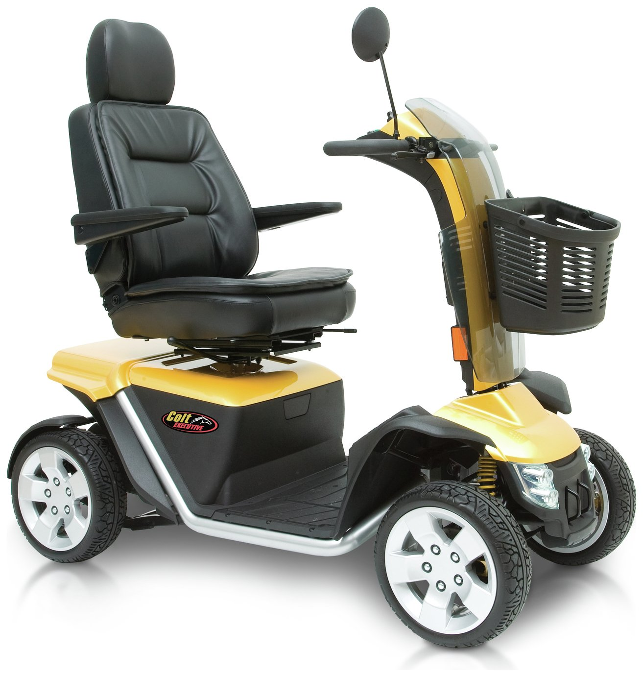 Pride Mobility Colt Executive Power Scooter - Gold