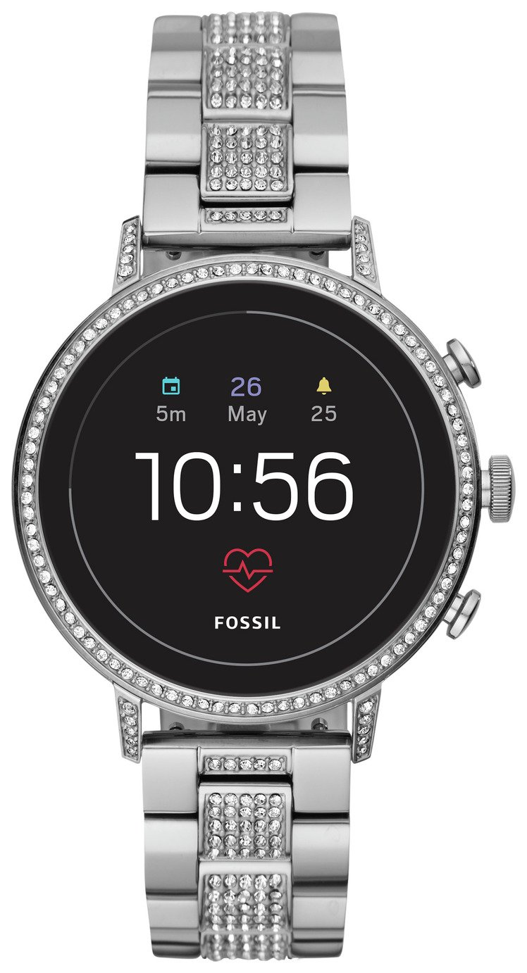 Fossil Venture Gen 4 HR Smart Watch - Glitz