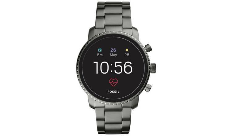 8e515a9a29d Buy Fossil Explorist Gen 4 Smart Watch - Smoke