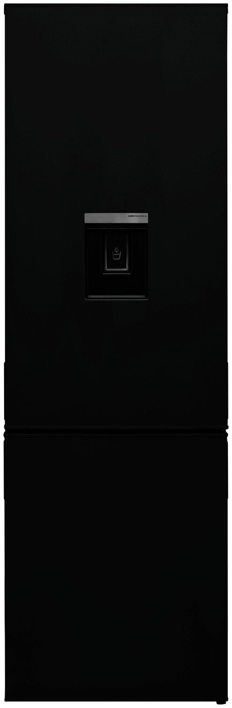 Bush F54180FFWTDB Fridge Freezer - Black Best Price, Cheapest Prices