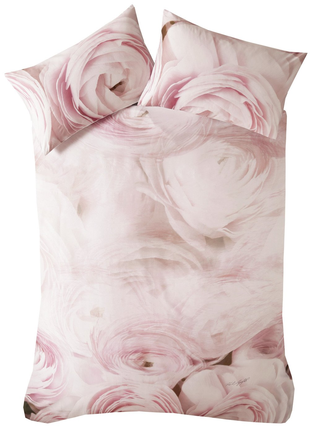 Karl Lagerfeld Rana Rose Pink Bedding Set - Kingsize