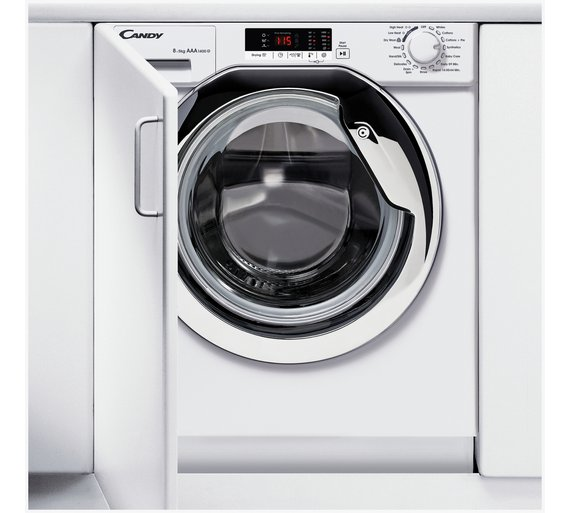 Buy Candy Cbwd8514sc 8kg 5kg 1400 Spin Integrated Washer Dryer