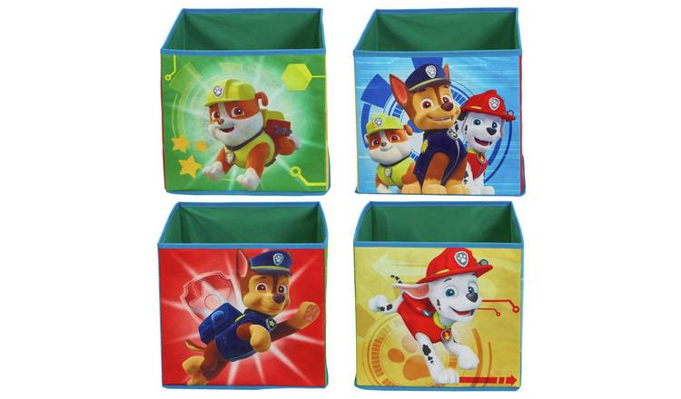 Paw Patrol Canvas Box - Set of 4