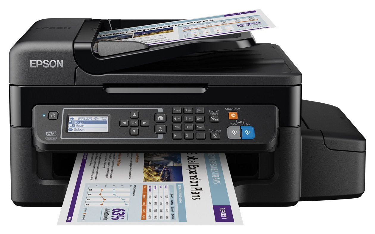 Epson EcoTank ET-4500 Ink Tank All-in-One Wireless Printer