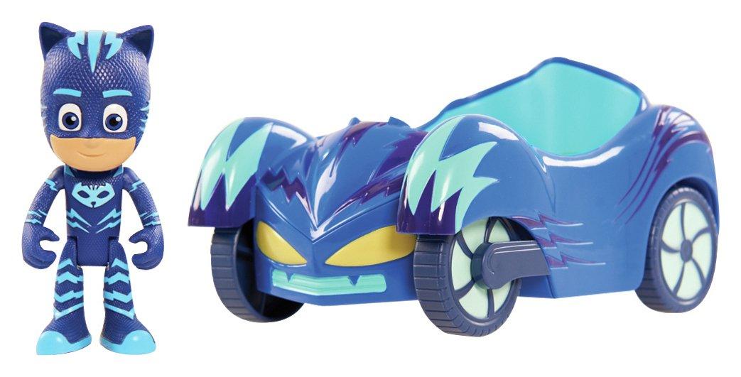 PJ Masks Cat Boy Figure and Vehicle