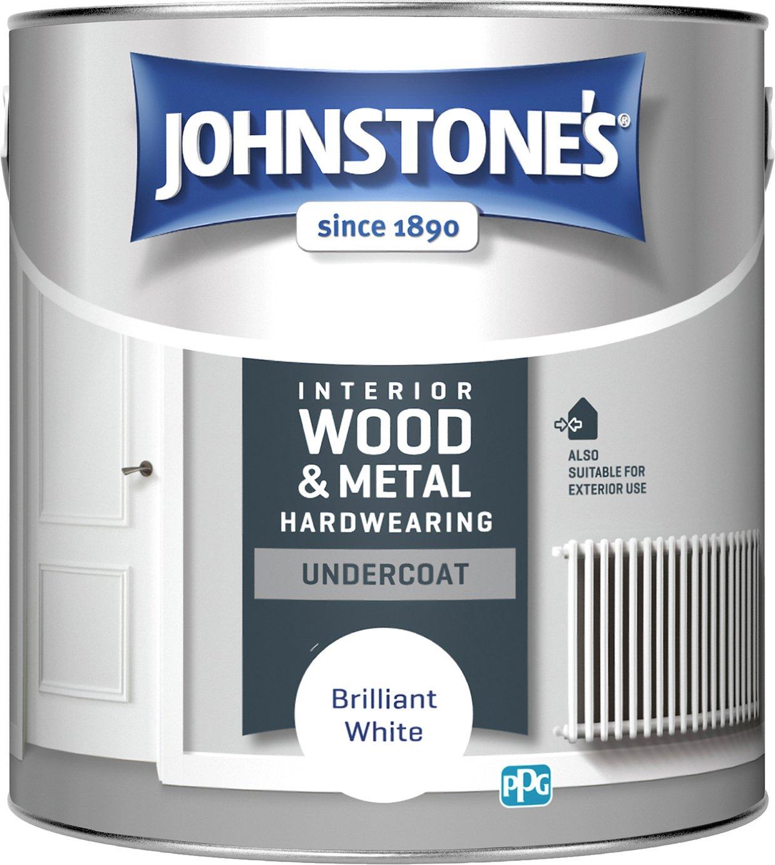 Johnstone's All Purpose Undercoat Paint 2.5 Litre - White