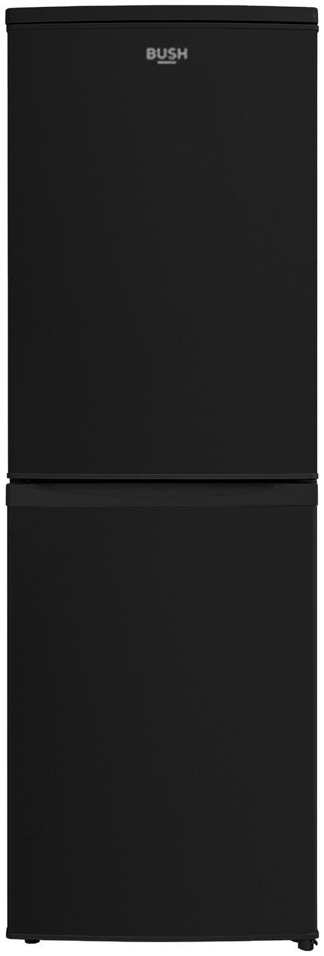 Bush M50152SB Fridge Freezer - Black Best Price, Cheapest Prices