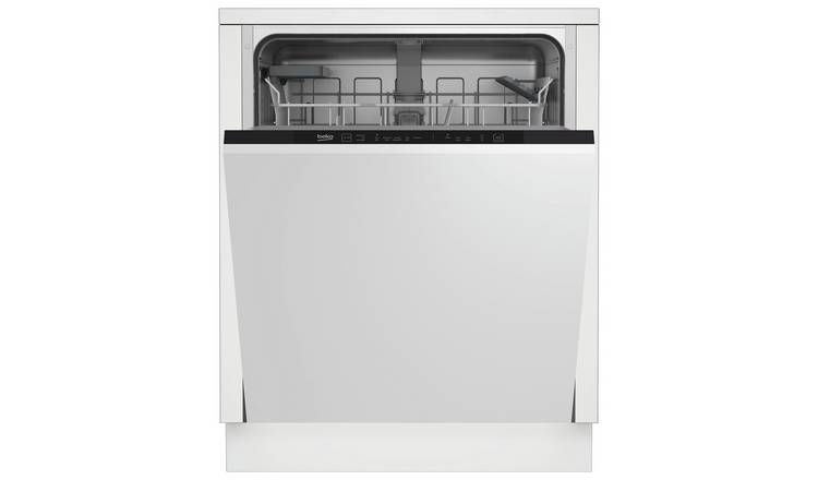 f28953ddb62 Beko DIN15311 Full Size Integrated Dishwasher - White858/3969