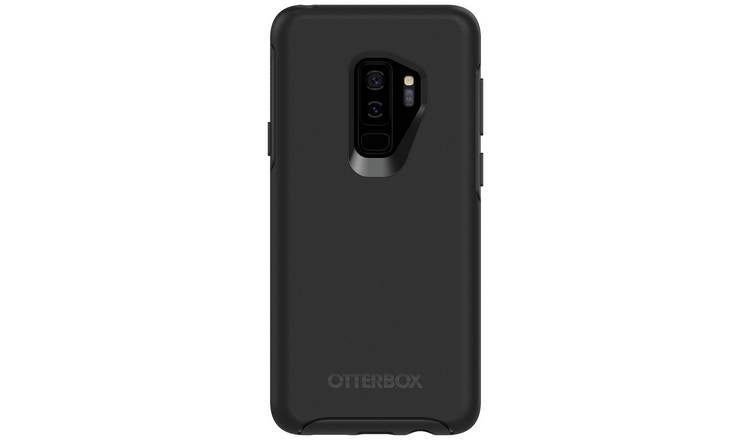 super popular 270bf a9885 Buy OtterBox Symmetry Samsung Galaxy S9+ Case - Black | Mobile phone cases  | Argos