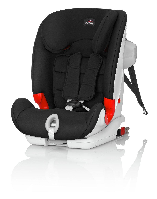 Britax Romer ADVANSAFIX III Sict Group 1/2/3 Car Seat –Black