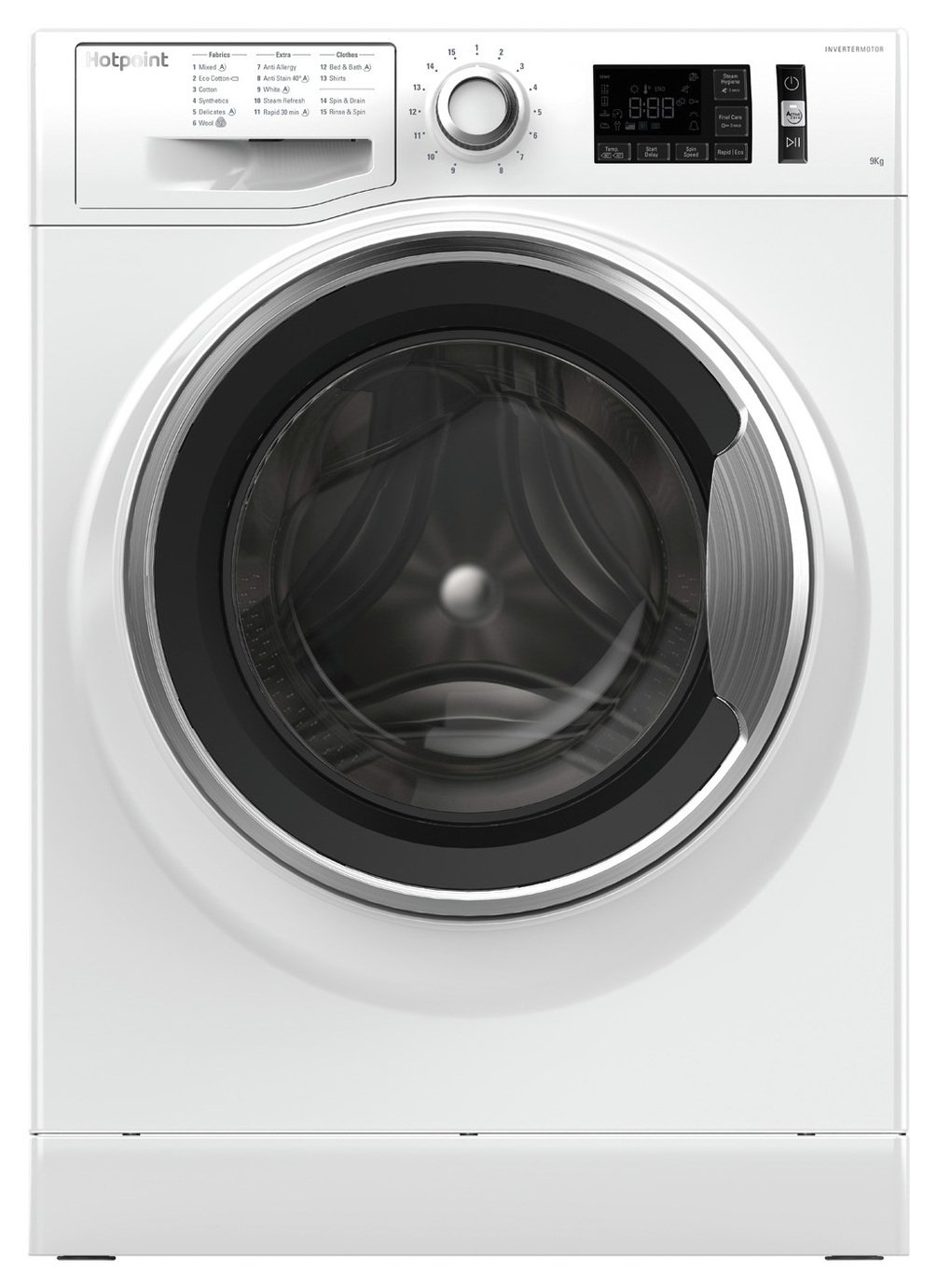Hotpoint NM11946WCA 9KG 1400 Spin Washing Machine - White