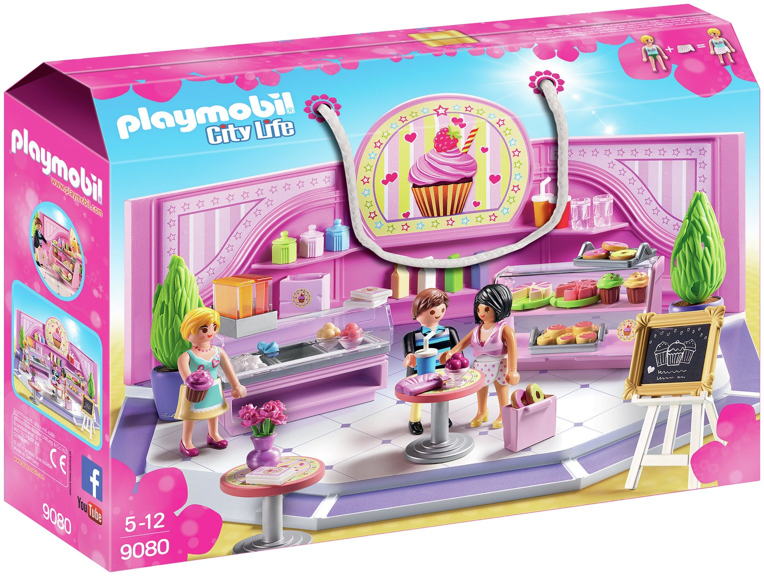 Playmobil 9080 City Life Cupcake Shop