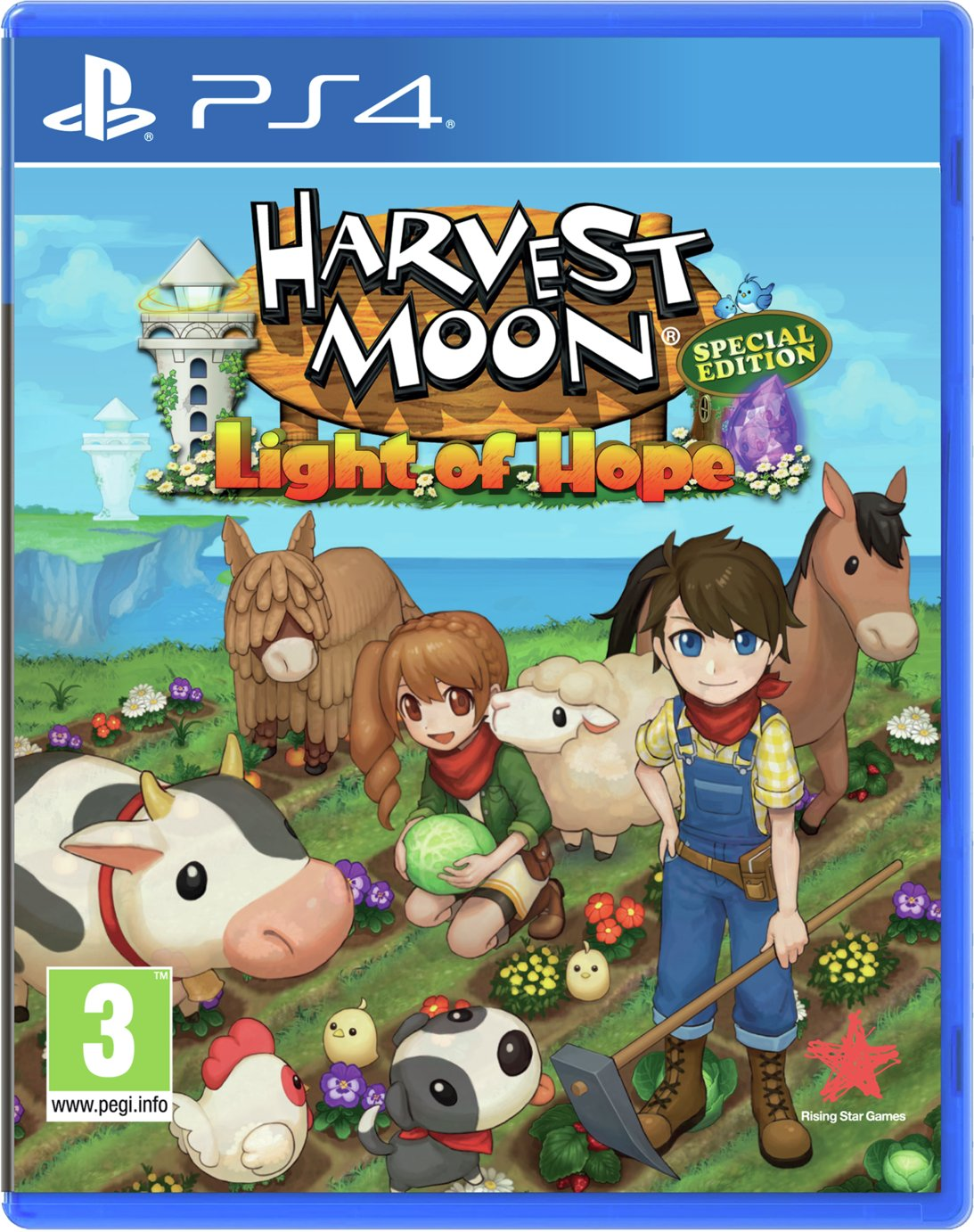 Harvest Moon Light of Hope PS4 Game