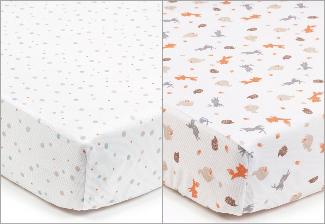 Breathable Baby Cot Bed Sheets