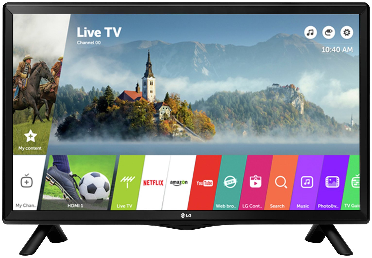 LG 28TK420S-PZAEK 28 Inch Smart HD Ready TV