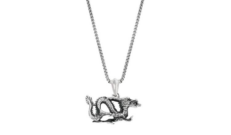 05c0916f8cefda Buy Revere Men's Stainless Steel Dragon Pendant | Men's necklaces ...
