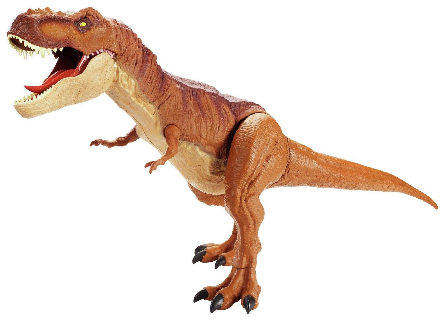 JURASSIC WORLD BATTAGLIA danni a ruggire SUPER colossale Tyrannosaurus Rex