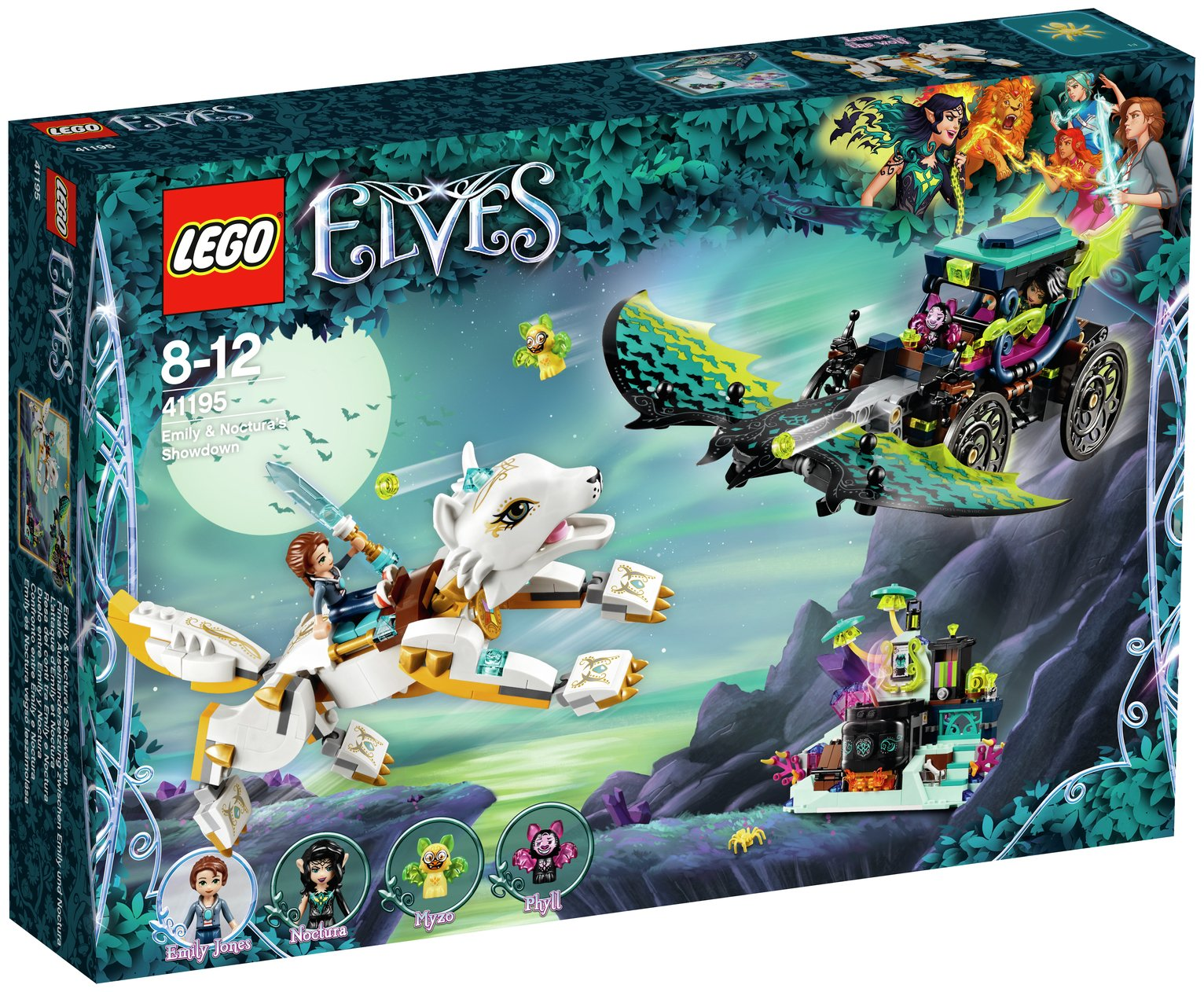 LEGO Elves Emily Noctura Showdown - 41195
