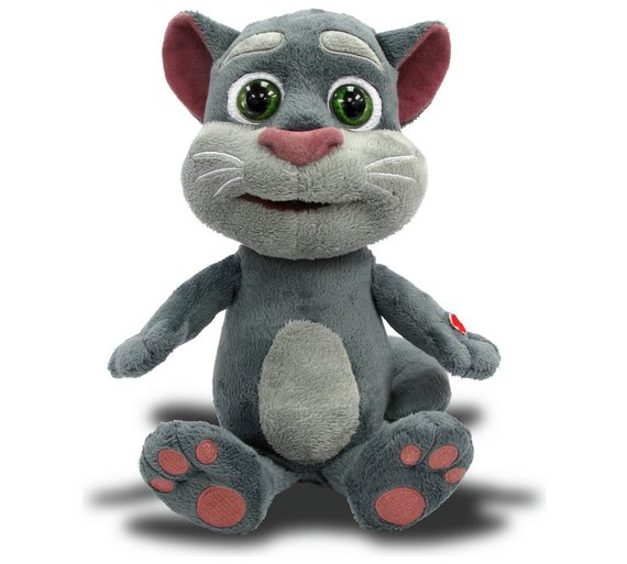 Buy Talking Tom And Friends Interactive Mini Talking Tom Action