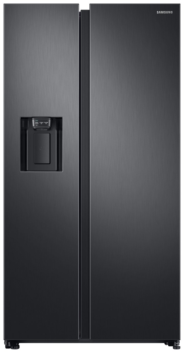 Samsung RS68N8230B1/EU American Fridge Freezer - Black Best Price, Cheapest Prices