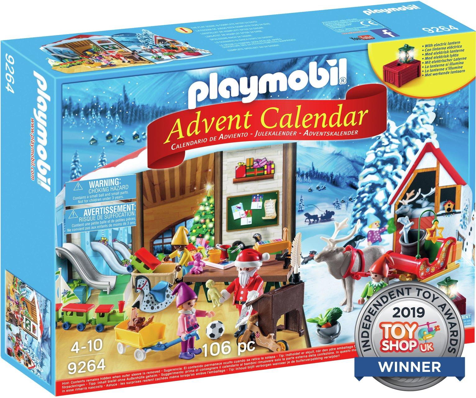 Playmobil 9264 Advent Calendar 'Santa's Workshop'