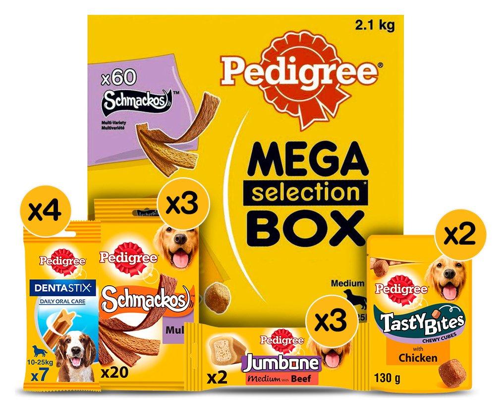 Pedigree Variety Box Adult Medium Dog Treats 12 Packs
