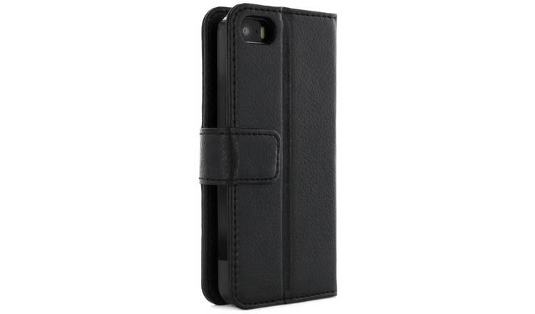 new product 43ce0 04aa8 Buy Proporta iPhone 5/ 5S/ 5SE Folio Case - Black   Mobile phone cases    Argos