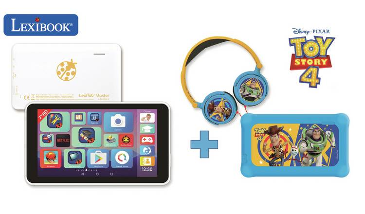 Lexibook 7inch Lexitab Toy Story 4 with Pouch and Headphones