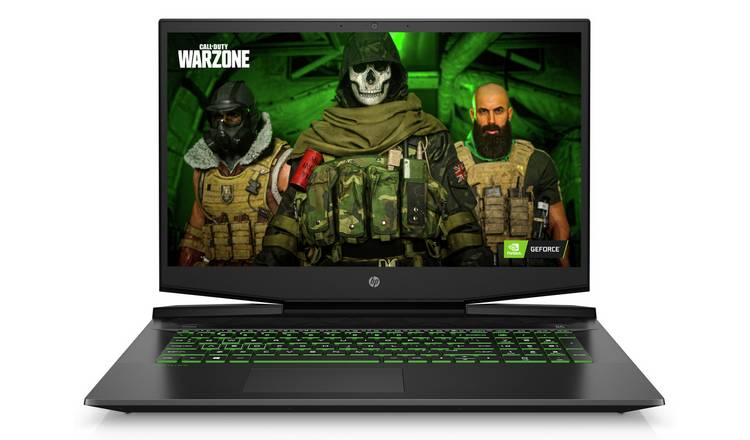 HP Pavilion 17.3in i7 16GB 1TB 512GB GTX1660Ti Gaming Laptop